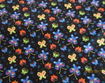 Butterfly Patchwork fabric