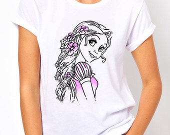 Disney Princess Rapunzel Ladies T Shirt