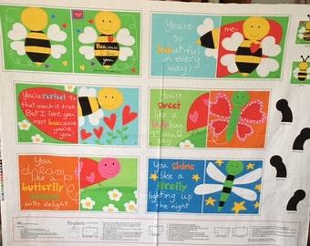Studio E - Huggable and Loveable Book Panels Designed by Sandra Magsamen