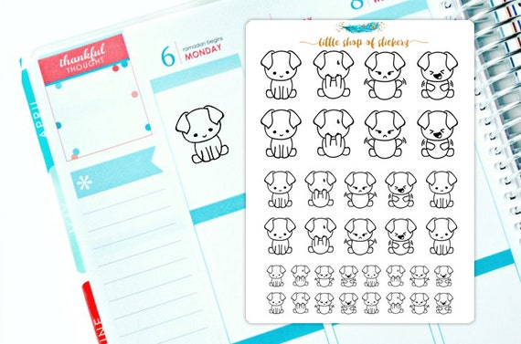 Expresions Gizmos, Hand Drawn Planner Stickers, Planner Stickers, Planner Decor, Stickers For Planner, Doodle Stickers