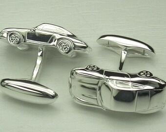 Manschettenknöpfe im Porsche Design - aus 925 Sterling silber