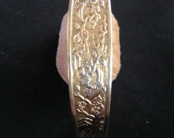 """Reed & Barton Sterling Cuff Bracelet 7.5"""""""