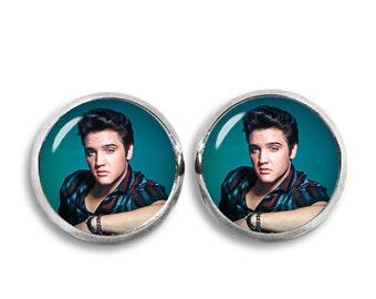 Elvis Presley Stud Earrings Elvis Presley Earrings Elvis Presley Jewelry