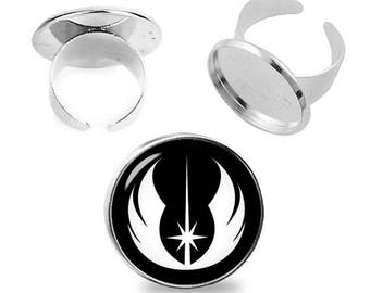 Jedi Order Ring Star Wars Adjustable ring JEDI Jewelry Fanboy Fangirl