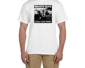 Beastie Boys Check Your Head Album Cover T Shirt Classic Hip Hop Tee Rap Rapper Vintage Style 80's Rappers T-Shirt New
