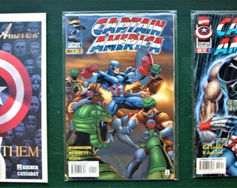 Captain America Comic Lot of 3 - Issues 3, 5 'Honor Them' and 9 - NM