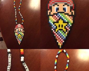 Super Mario Kandi Necklace