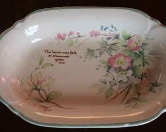 SALE Lovely Royal Winton dish from 'The Country Diary Collection'  1977