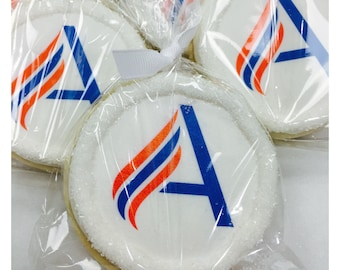 Custom Personalized Sugar Cookies with Edible Logo!