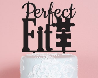 Perfect Fit Wedding Cake Topper