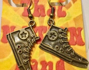 "USA FREE Shipping!!! That NATION Band ""Chucks"" Earrings"