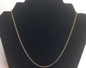 Vintage Sarah Cov Coventry Gold colored Chain Necklace