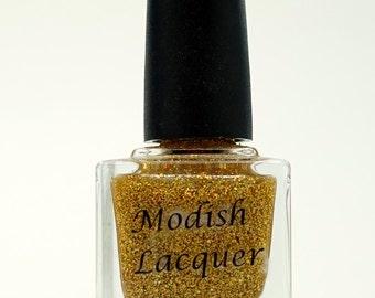 """Gold Holo Nail Polish """"Gold Miner"""""""
