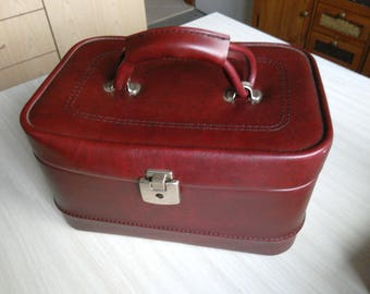 Briefcase Vanity case. Toilet Kit. Make-up bag. Case of toilet. Travel Kit. Vanity bag.