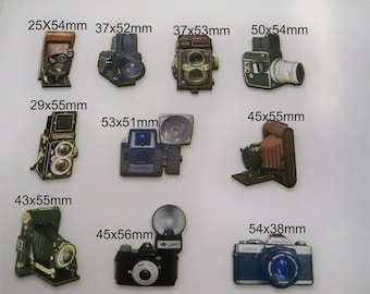 10 X Old Classic Cameras