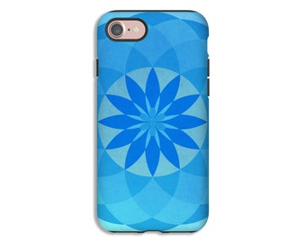Mandala iPhone 7 case, bohemian iPhone 7 Plus case, iPhone 8/8 Plus case, iPhone X case, iPhone 6, iPhone 6s Plus case/6s case