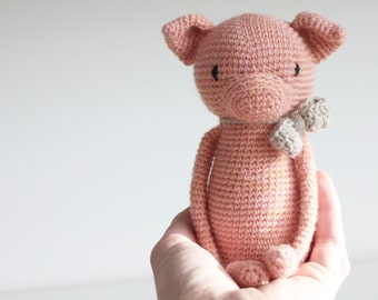 LuiPig ** Amigurumi crochet pattern LuiLuh.handmade PDF language: english and german