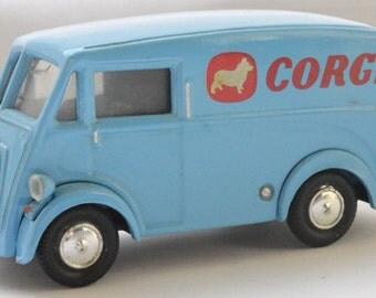 "Corgi Morris J type van in ""Corgi"" livery 1950s"
