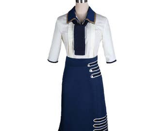 Bioshock Infinite 3 Elizabeth Daisy Fitzroy Cosplay Costumes