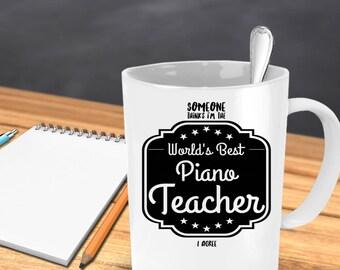 Piano teacher gift   Etsy