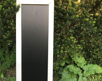 Large Rustic Chalkboard, Whitewash Chalkboard, Framed Chalkboard, Chalkboard Frame, Wooden Chalkboard, Rustic Chalkboard, Chalkboard Sign