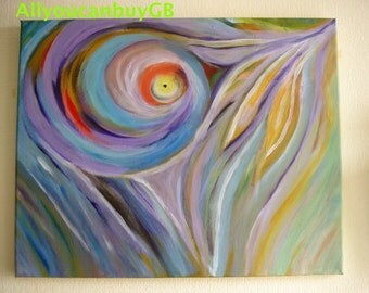 Abstract Painting, Abstract Canvas Art, Acrylic Painting