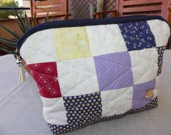 Bag, handbag large Patchwork, cosmetics, make-up Bag
