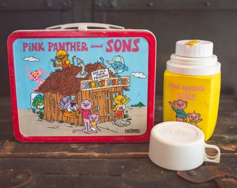 Pink Panther and Sons Lunchbox