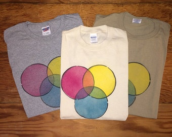 Handmade Color Wheel Shirt