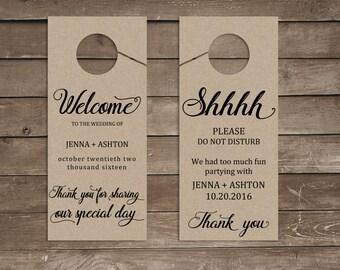 Wedding door hanger printable, wedding door hanger, wedding do not disturb, do not disturb door hanger, do not disturb sign, wedding