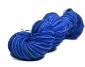 Sock Yarn, Merino Nylon sock yarn, fingering weight yarn, wool sock yarn, 75/25 Superwash Merino/Nylon - Blueberries