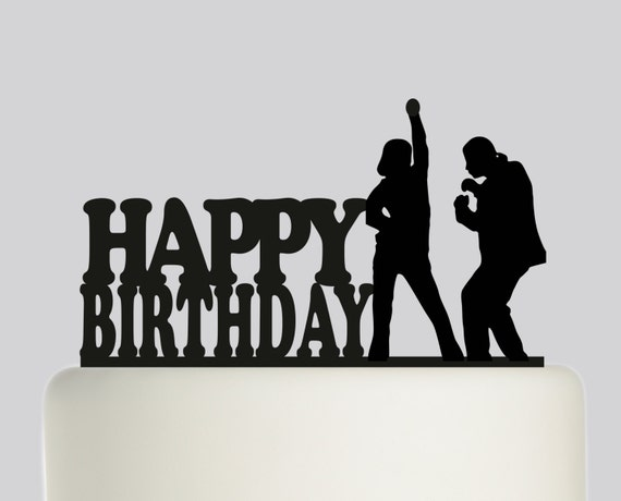 Pulp Fiction Cake Topper