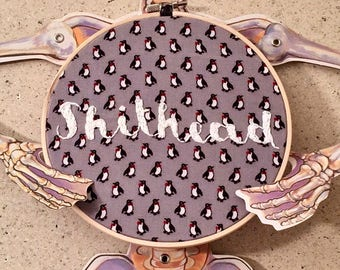 Sh*thead Embroidery