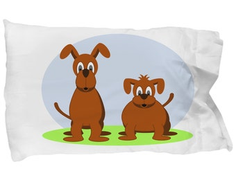 New Awesome Dog Pillowcase Dog Pillow Cover Dog Lover Gift Dog Pillow
