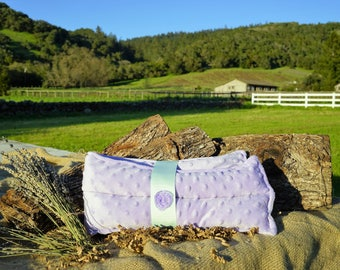 Lavender Hot and Cold Therapy Neck Wrap