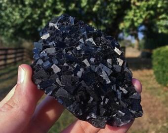 Beautiful Multi-Color Fluorite from the Okorusu Mine in Otjiwarongo, Karibib, Namibia 05C