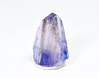Two-toned Pink and Purple Bright NATURAL Tanzanite Crystal with GREAT PLEOCHROISM from Arusha, Tanzania, Africa 24