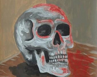 skull - chrome