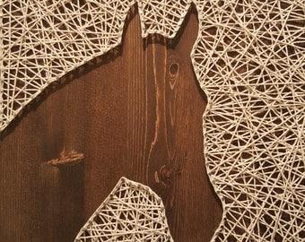 Horse String Art- scattered design