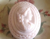 Pink Cameo Soap