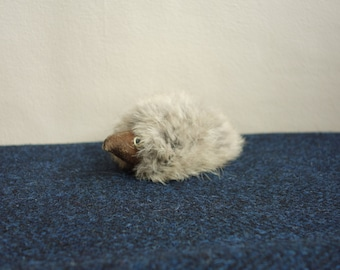 RARE Vintage Hedgehog Collectible Stuffed Toy, Hedgehog Toy