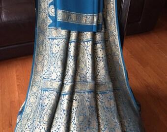 Banarasi Georgette silk brocade saree