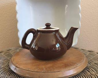 Vintage Brown Teapot