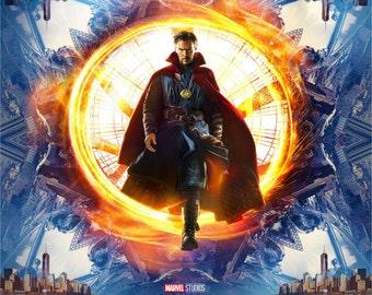 Doctor Strange Movie Poster A5 A4 A3 A2 A1