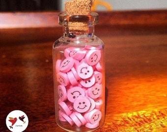 Mini bottle of fimo