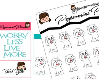UGH Planner Stickers, Hand Drawn By my Daughter, {#135}