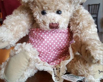Gang Cottage Collectible Bear signed by artist