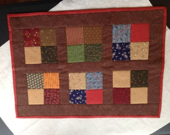 Six Block Four Patch Wall Hanging