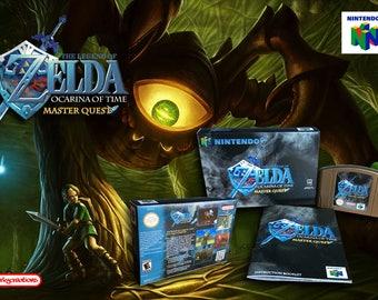 The Legend of Zelda: Ocarina of Time Master Quest CIB N64 NINTENDO