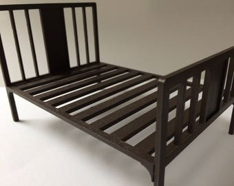 1/12th scale miniature bed